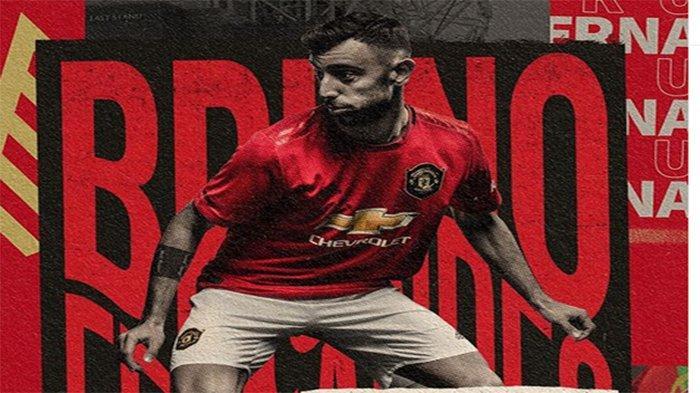 LINK Streaming Manchester United vs Wolves - Debut Bruno Fernandes, LIVE Mola TV