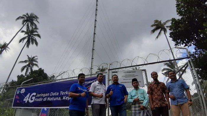XL Axiata Hadirkan Jaringan Telekomunikasi 4G - Program USO di Kepulauan Natuna