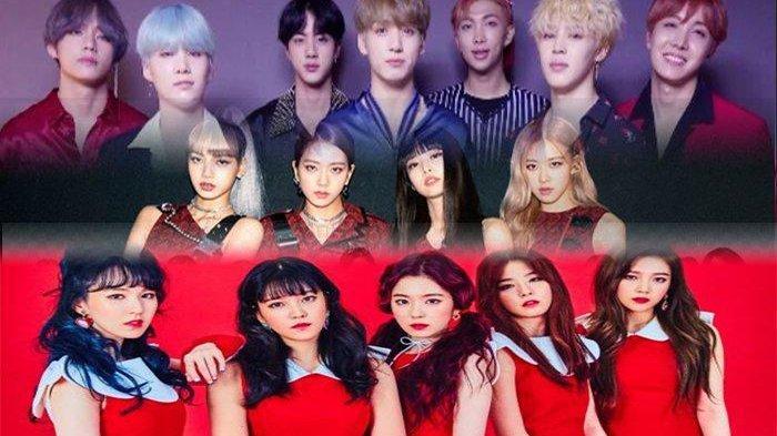 BTS, BLACKPINK dan Red Velvet Puncaki Grup Idol K-Pop Terpopuler Sepanjang Juli 2020, Cek Lainnya!