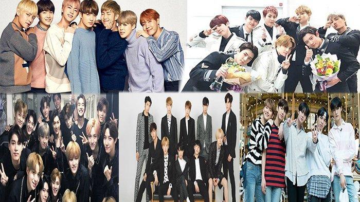 BTS & EXO Betah di Puncak Deretan Boyband K-Pop Terpopuler Agustus, Berikut Daftar Top 30