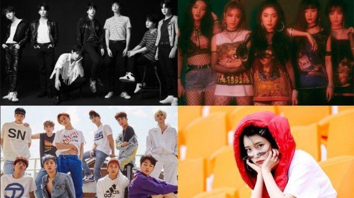 Selamat! BTS, Red Velvet, PENTAGON, dan IU Masuk Daftar Lagu Terbaik Billboard 2018 Pilihan Staf