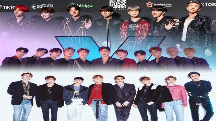 BTS Tak Tersaingi, Kejutan X1 di Deretan Boyband K-Pop dengan Reputasi Brand Terbaik September 2019