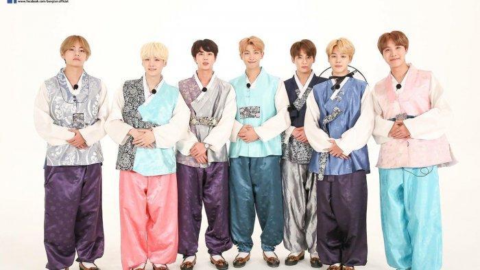 BTS Terima Penghargaan Atas Kecintaannya Terhadap Hanbok, Yuk Intip Penampilan Berbeda para Member!
