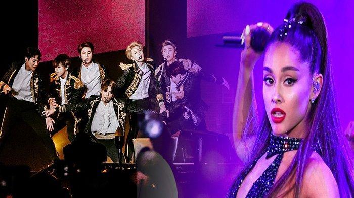 BTS Ungguli Ariana Grande, Penjualan Album 'Map Of The Soul: Persona' Terlaris Tahun 2019