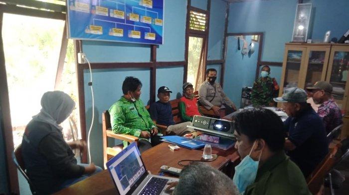 BKSDA Kalbar Lakukan Rapat Koordinasi Terkait Munculnya Buaya di Perairan Sungai Pinang Luar