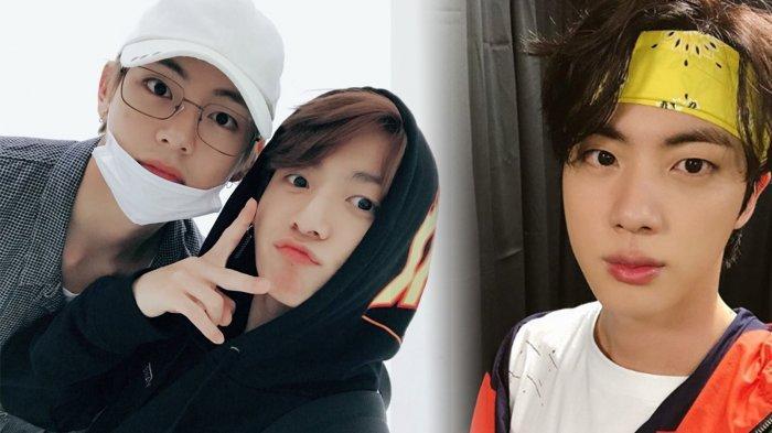 Bukannya Tidur, V BTS & Jungkook Kompak 'Berulah' Hebohkan ARMY Pagi-pagi, Jin Bereaksi pada TaeKook
