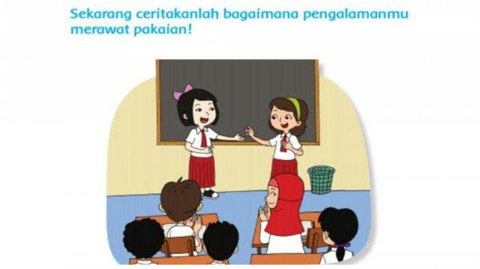 Kunci Jawaban Buku Tema 4 Kelas 1 Sd Revisi 2021