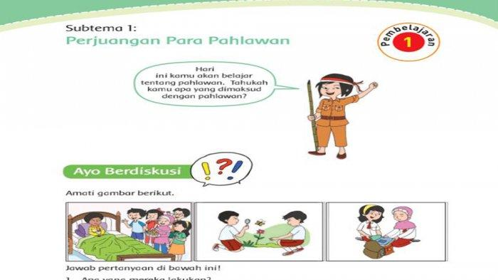 Kunci Jawaban Tema 5 Kelas 4 Halaman 10 11 12 13 Subtema 1 Pembelajaran 2 Perjuangan Para Pahlawan Tribun Pontianak