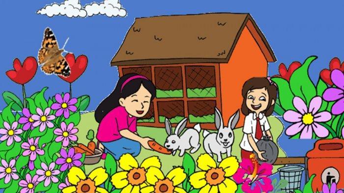 Kunci Jawaban Tema 3 Kelas 4 Halaman 115 116 117 118 119 Tematik Sd Subtema 3 Ayo Cintai Lingkungan Tribun Pontianak