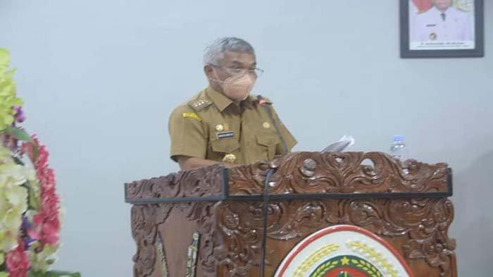 Martin Hadiri Rapat Penyampaian Nota Keuangan dan Raperda Perubahan APBD Ketapang Tahun 2021