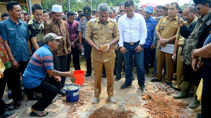 Pembangunan Masjid Al-Annas di Dusun Lembawang Terkendala Dana