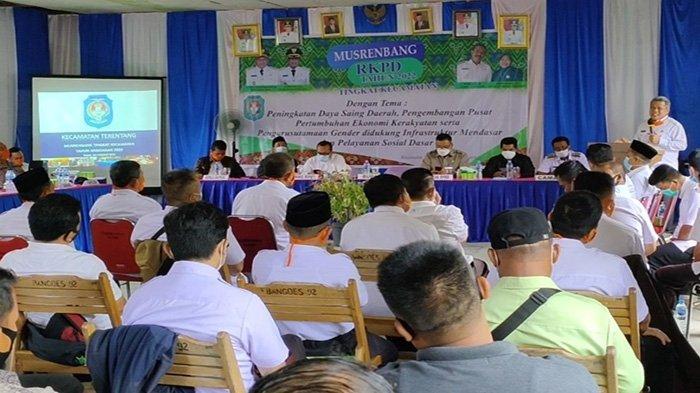 Bupati Kubu Raya Muda Mahendrawan Buka Musrenbang Tingkat Kecamatan, Jalan Poros Jadi Prioritas