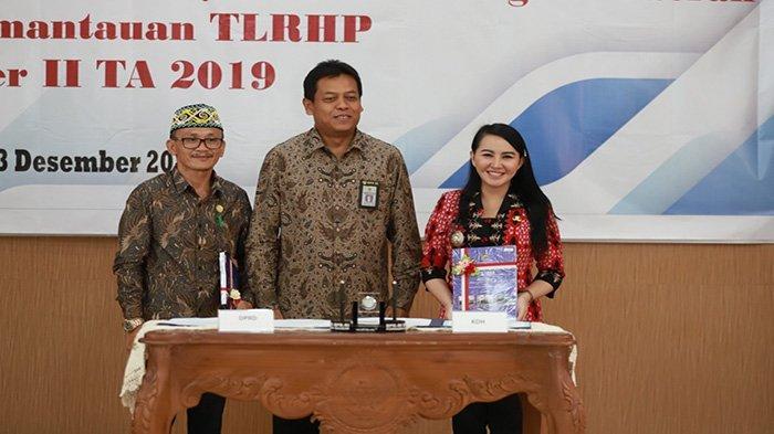 Penyerahan LHP, Kabupaten Landak Berada di Posisi Pertama TLRHP yang Selesai