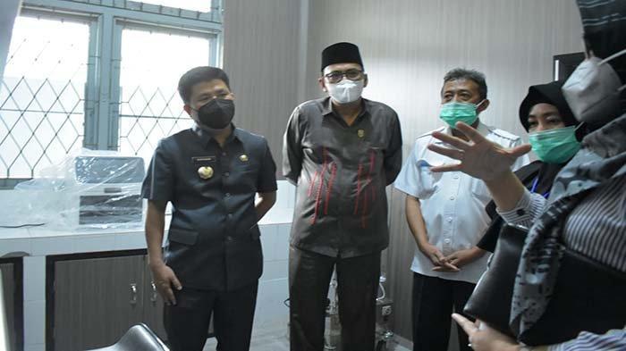 Satono Resmikan Gedung Laboratorium PCR Dinas Kesehatan Kabupaten Sambas