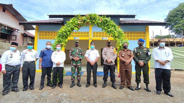 Bupati Sanggau Paolus Hadi Resmikan Tempat Wudhu dan Toilet Masjid Hidayatusshalihin