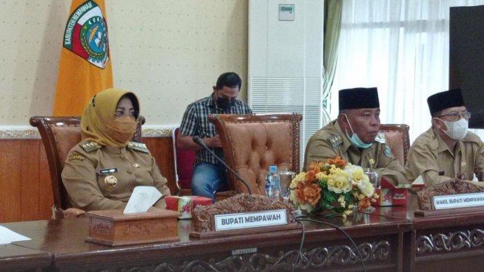 Bupati dan Wakil Bupati Mempawah Ikuti Zoom Meeting Bersama PT Pelindo II, Ini Pembahasannya