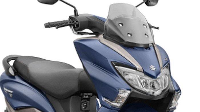 BURGMAN Street 125 Tampil Gahar, Skutik Premium Suzuki Ini Bakal Jadi Pesaing Berat Yamaha Lexi ?
