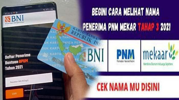 https//banpresbpum.co.id Daftar Penerima BLT UMKM Tahap 3 BNI Login www.banpresbpum.id & eform.bri