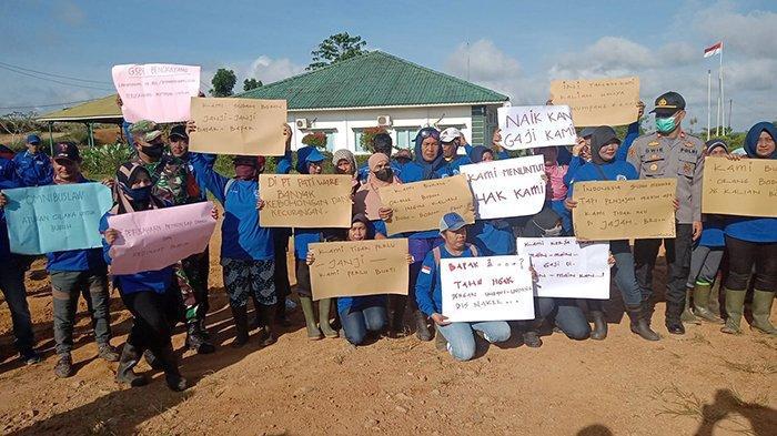 Ratusan Buruh PT Patiware Mogok Kerja, Wahyu: Terus Mogok Kerja Sampai Perusahaan Naikkan Gaji