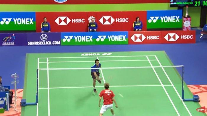 BWF Tanggapi Kontroversi Kekalahan Anthony Sinisuka Ginting di Final Hongkong Open 2019