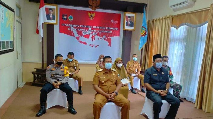 Bupati Citra Duani dan Forkopimda Kayong Utara Rakor Bersama Presiden Jokowi, Ini Pembahasannya