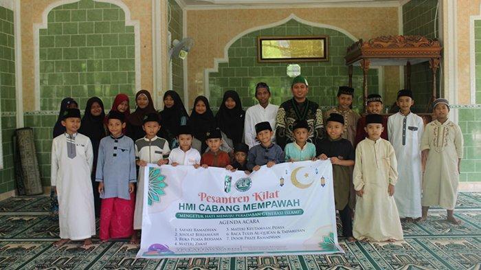 Semarak Ramadan, HMI Cabang Mempawah Laksanakan Pesantren Kilat