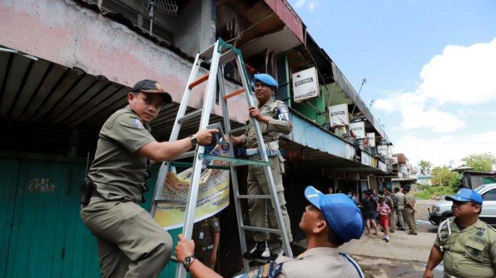 FOTO: Pol PP Segel Kafe Remang-remang di Parit Baru - cafe-pari-baru-segel-01.jpg