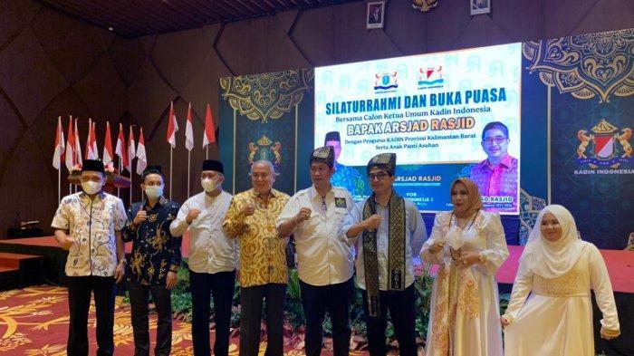 Kadin Kalbar Dukung Arsjad Rasjid Maju Sebagai Calon Ketua Umum Kadin Indonesia Periode 2021-2026