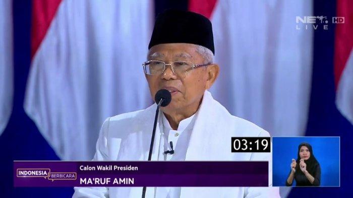 Kuasa Hukum BPN Prabowo-Sandi Yakin MK Diskualifikasi Maruf Amin, TKN Jokowi-Maruf Amin: Mengada-ada