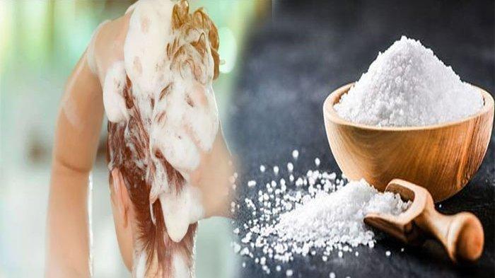 CAMPURKAN 2 Sendok Garam & Shampo Saat Keramas, 3 Manfaat Luar Biasa Ini Bisa Anda Rasakan