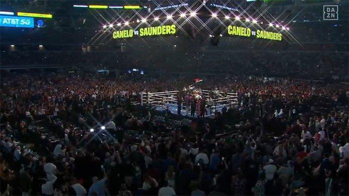 Hasil Tinju Dunia Hari Ini Saul Canelo Alvarez Vs Saunders, Menang KO Demi Juara Tak Terbantahkan