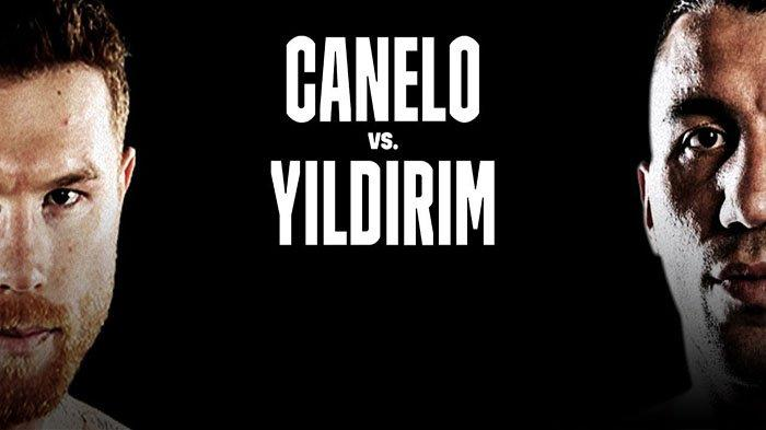 LINK Live Streaming CANELO Vs YILDIRIM TVOnline DAZN Minggu 28 Februari 2021 Pagi! Aksi Jagoan Turki