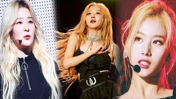 Cantiknya Kebangetan, Inilah Deretan Seleb K-Pop Cewek yang Tampil Ikonik dengan Rambut Blonde