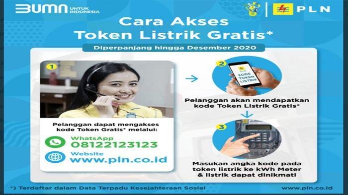 Ambil Token Pulsa Listrik Gratis Login www.pln.co.id atau ...