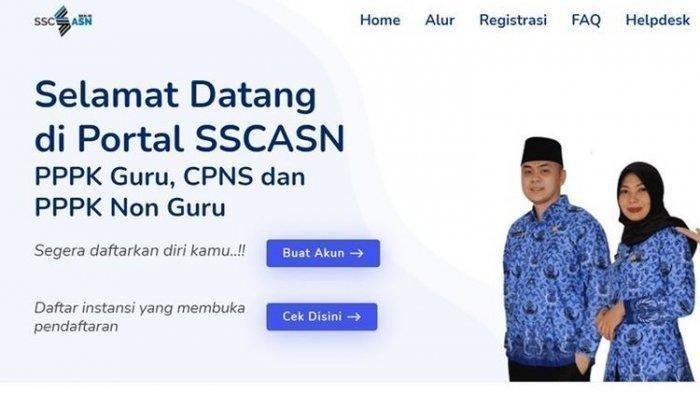 CARA Buat Akun CPNS sscn di https //sscn.bkn.go.id/ untuk Seleksi CPNS, Cek Batas Pendaftaran CPNS