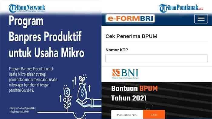 Cara Cek Banpres BPUM September 2021 di eform.bri.co.id/bpum atau https://banpresbpum.id