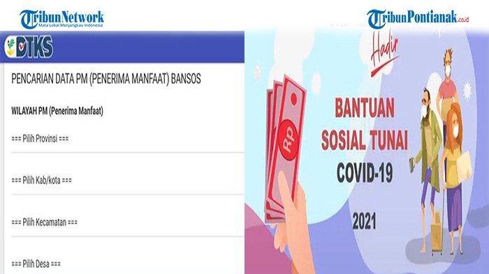 Cara Cek Bansos Kemensos BST Rp 300 Ribu Bulan September 2021 Lengkap Cara Mencairkan Bantuan