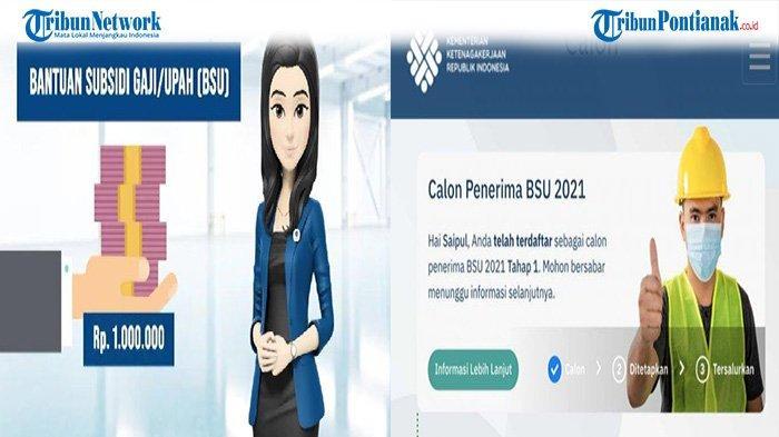Cara Cek BLT BPJS Ketenagakerjaan 2021 Akses bsu.bpjsketenagakerjaan.go.id atau kemnaker.go.id
