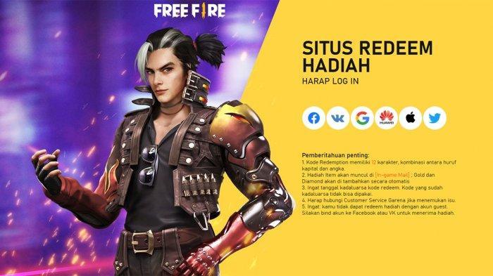 KODE Redeem FF yang Belum Digunakan Terbaru, Yuk Segera Klaim Item | Seru, Ada Garena Free Fire Max