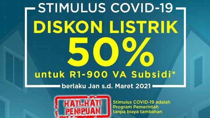 Cara Klaim Bansos PPKM Diskon Listrik Online Login https://stimulus.pln.co.id/