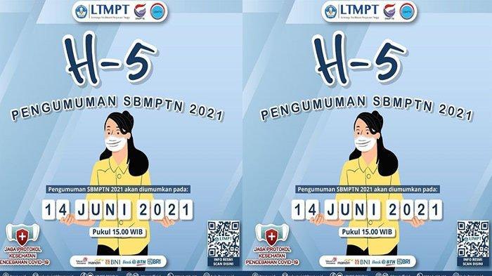 CARA Melihat Pengumuman SBMPTN 2021, Ini Jadwal Pengumuman SBMPTN 2021