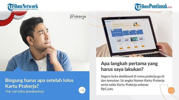 Tanda Lolos Seleksi Prakerja Gelombang 20 Login prakerja.go.id Cek Dashboard