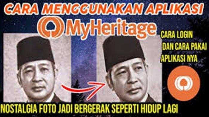 Cara Membuat Foto Seolah Hidup Download Deepfake My Heritage Lengkap Cara Menggunakan MyHeritage
