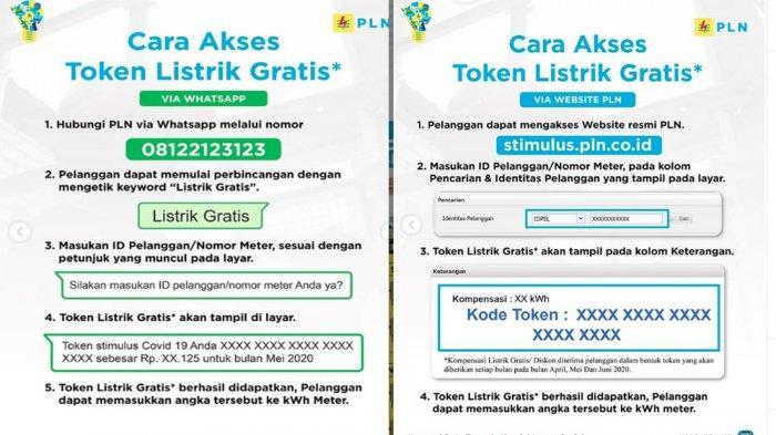 Voucher Listrik Gratis Berbulan-bulan Sangat Mudah LOGIN www.pln.co.id atau Chat WA 08122-123-123