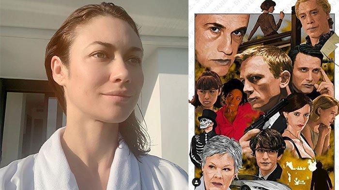CARA Sembuh dari Virus Corona, Pemain Film James Bond Olga Kurylenko Bagikan Tips   Obatnya Familiar