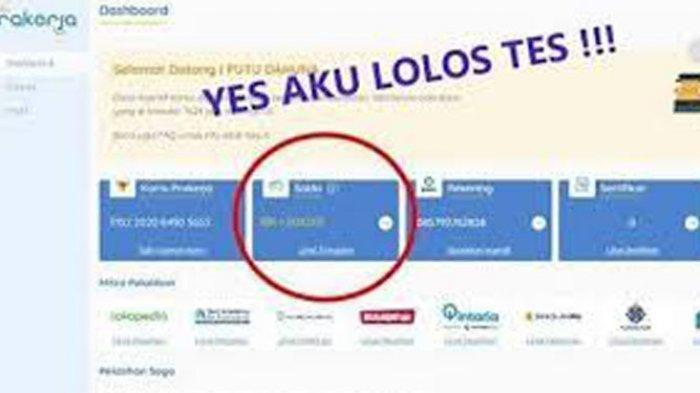 Cara Tahu Sudah Terdaftar di Prakerja Gelombang 12 Login https://dashboard.prakerja.go.id/daftar