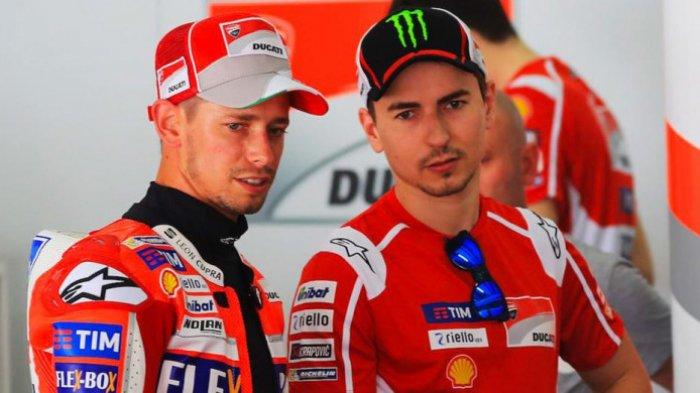 Casey Stoner Sayangkan Jorge Lorenzo Harus Pisah dari Ducati