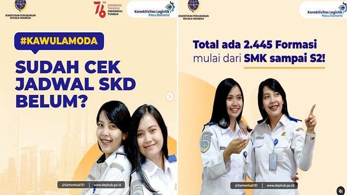 CATAT Tanggal Ujian Kementerian Perhubungan CPNS 2021, Cek Jadwal SKD Kemenhub di sscasn.bkn.go.id