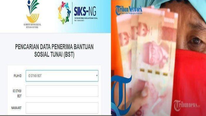 Bansos BST dan PKH Cair, Cek Penerima Bansos Login cekbansos.kemensos.go.id Pakai NIK KTP