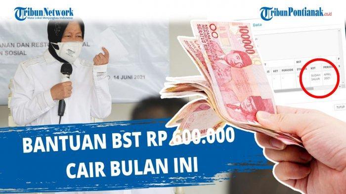 CARA Cek Apakah Terdaftar Bansos 2021 Link cekbansos.kemensos.go.id & Kapan BST Juli-Agustus Cair